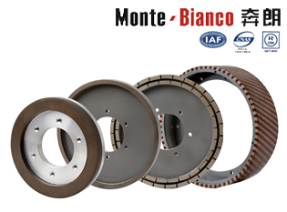Diamond Squaring Wheels Wet Dry Wheel For Ceramic Tiles Edges