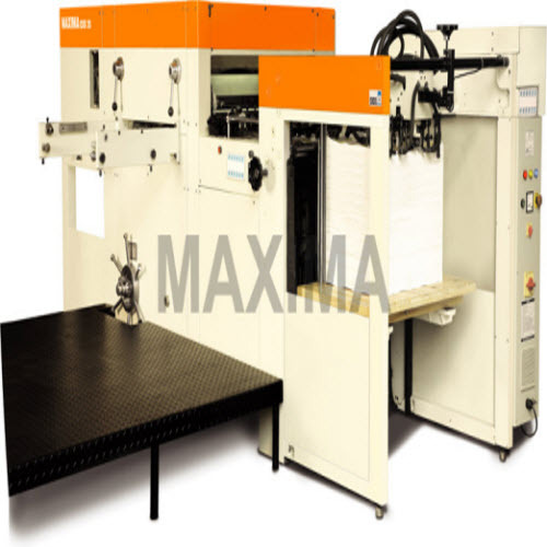 Die Cutting Machine From Exel Maxima