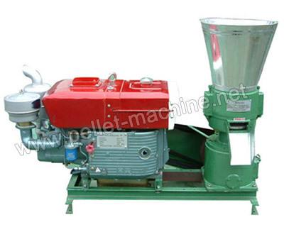 Diesel Wood Pellet Mill Is Mainly Used In Pelleting Industry From Crude Fib