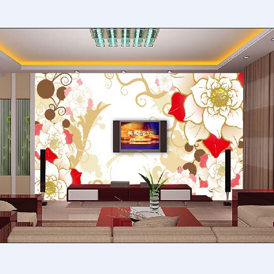 Digital Printed Textile Wallpaper Murals
