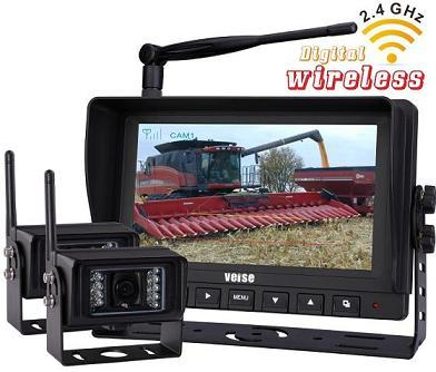 Digital Wireless Monitor Camera System