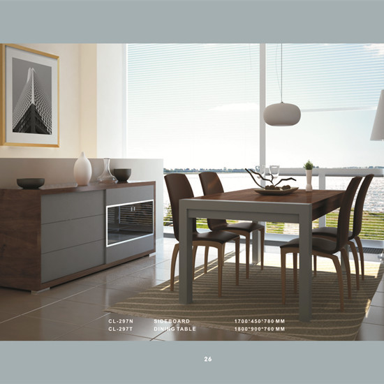 Dining Set Model Cl 297t Manufacture