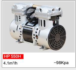 Direct Drive Mini Oil Free Piston Pump For Pumping Machine Hp 550h