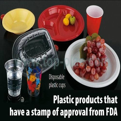 Disposable Plastic Container Available In Several Capacities And Sizes