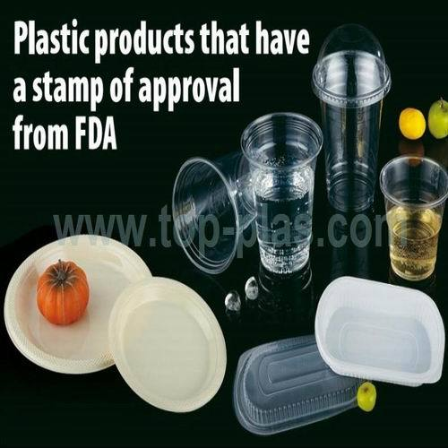 Disposable Plastic Product Available In Several Capacities And Sizes