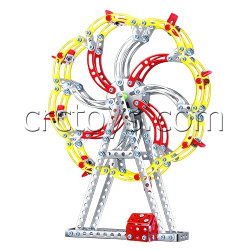 Diy Metal Building Blocks Toy Ferris Wheel