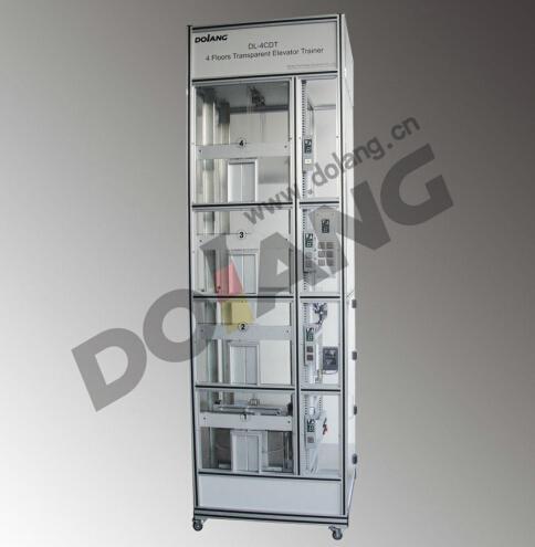Dlly 4cdt Transparent Four Floor Elevator Trainer
