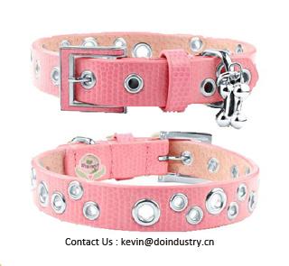 Dog Collar Pet Leather Bracelets