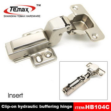 Door Hinge With Soft Closing Function