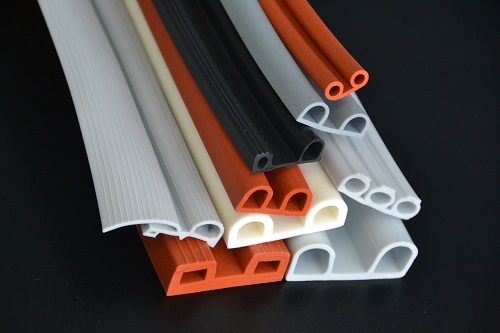 Double Bulb Seals Silicone Extrusion And Gaskets