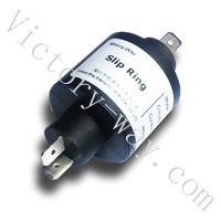 Double Channels High Current Slip Ring H2