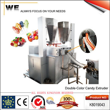 Double Color Candy Extruder