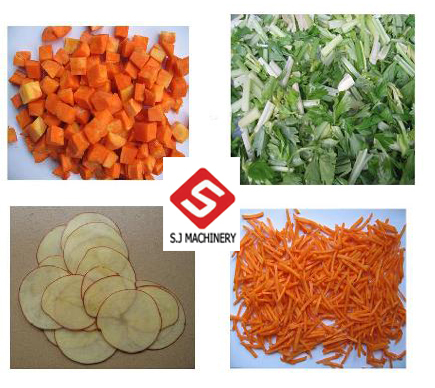 Double Frequency Converters Vegetable Cutting Machine Slicer