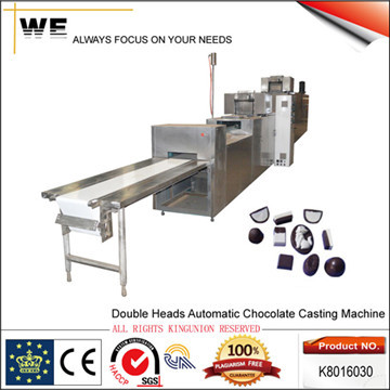 Double Heads Automatic Chocolate Casting Machine