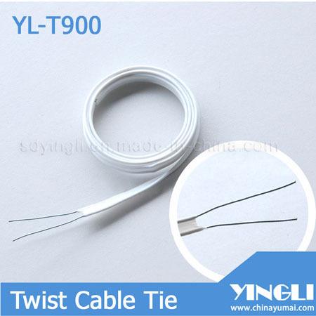 Double Iron Core Twist Tie Yl T900