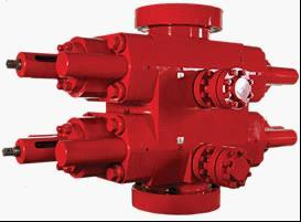 Double Rams Blowout Preventer For Well Drilling