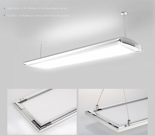 Double Side Led Panel Light P04co With 3 Years Warranty