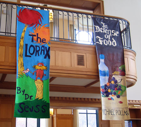 Double Side Prints Banner