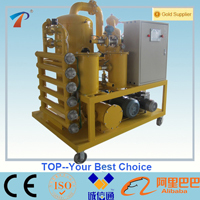 Double Stage Vacuum Transformer Oil Filter Machine Zyd