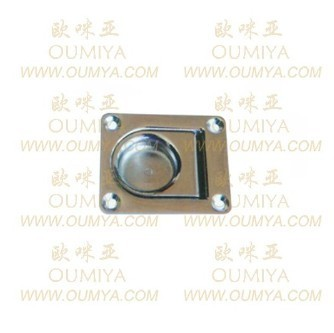 Down Ring Heavy Duty Recessed Floor Spring Latch Snap Latch131065as