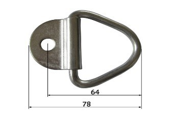 Down Ring Heavy Duty Recessed Floor Spring Latch Snap Latch131078am