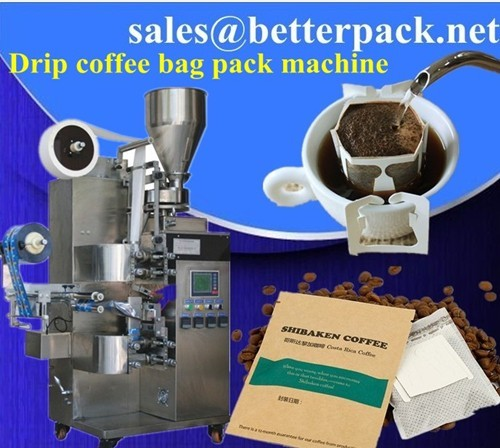 Drip Bag Coffee Packaging Machine Bagging