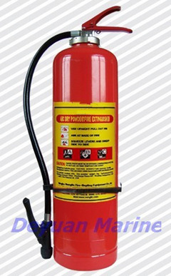 Dry Powder Fire Extinguisher With Internal Gas Cartridge