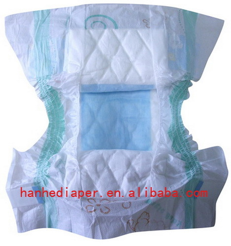 Dry Surface Baby Diaper With Good Absorbency