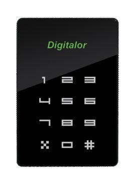 Dt3000lb Led Keypad Card Reader
