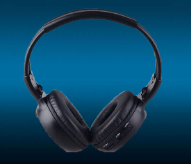 Dual Channel Wireless Ir Headphone