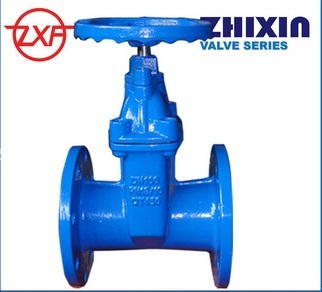 Ductile Iron Bs5163 Resilient Seated Gate Valve Light Type Dn50 Dn300 Pn10