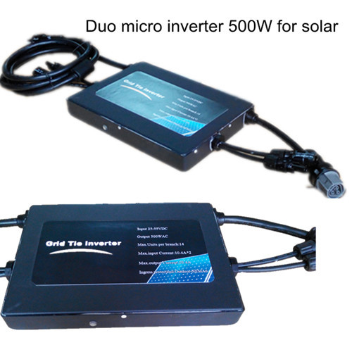 Duo Micro Inverter M500 For Grid Tie Home Residential System 1kw 3kw 5kw 10