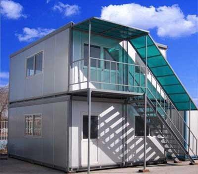Duplex Container Building