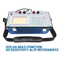 Dzd 6a Multi Function Dc Resistivity In Ore Detector