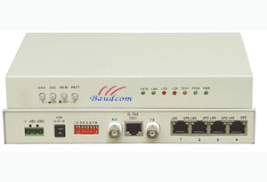 E1 To 4 Port 10 100baset Ethernet Converter