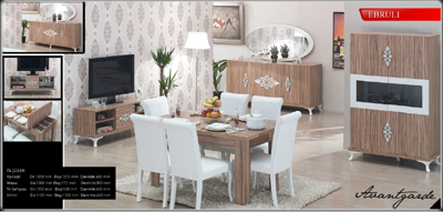 Ebruli Dining Room Furniture Sets