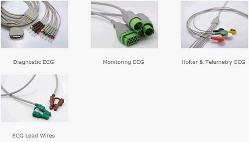 Ecg Ekg Cables New V Key
