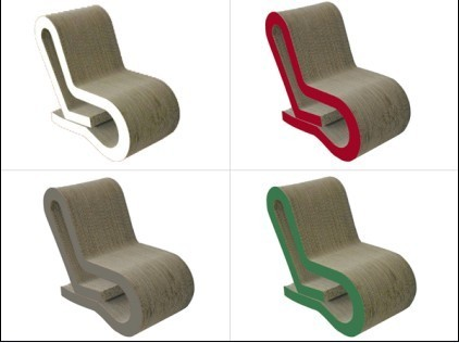Eco Friendly Paper Chair