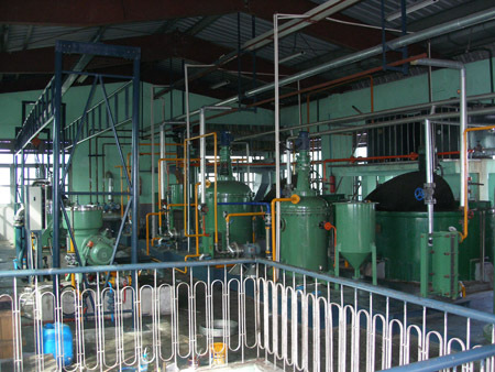Edible Oil Refining Machines