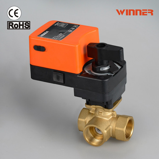 Electric Actuator Valve For Water Flow Control