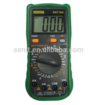 Electrical Read Digital Multimeter Snt18a