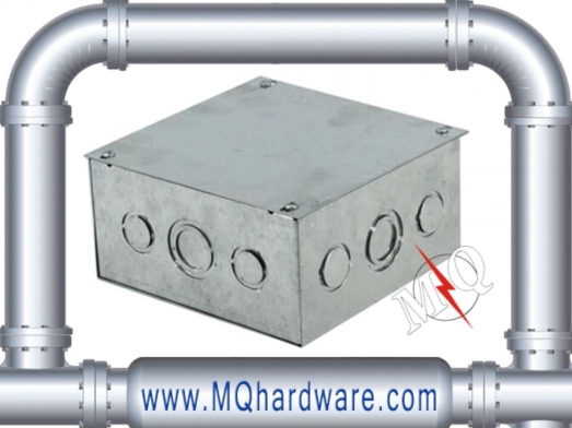 Electriccal Galvanized Steel Metal Junction Box