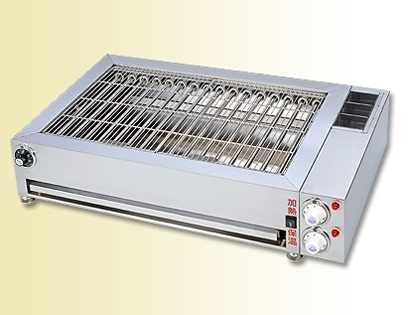 Electricity Sausage Grilling Machine Two Segments