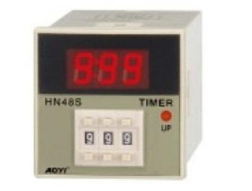Electronic Hn48s 1digital Multi Range Time Relay Timer