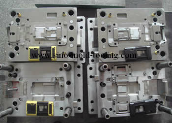 Electronic Part Mould Plastic Molding Service In Shenzhen China