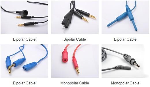 Electrosurgical Monopolar Bipolar Cables New V Key
