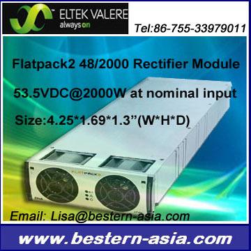 Eltek Valere Flatpack2 Rectifier 48v 2000w 48 2000