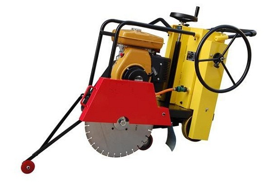 Em 300q Floor Saw Road Cutting