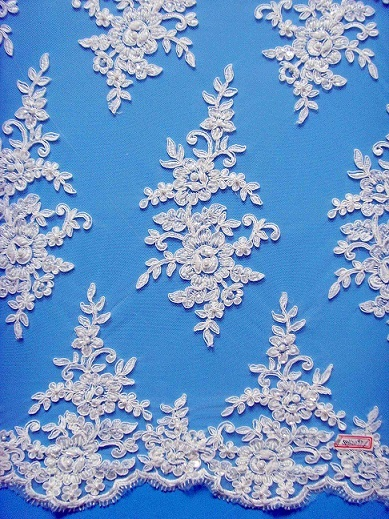 Embroidery Lace Fabric By The Yard