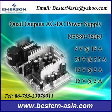 Emerson Astec Artesyn Nfs80 7606j